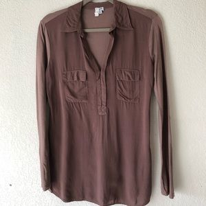 Splendid like-new button blouse top